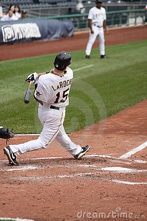 Andy LaRoche of  the Pittsburgh Pirates Editorial Image