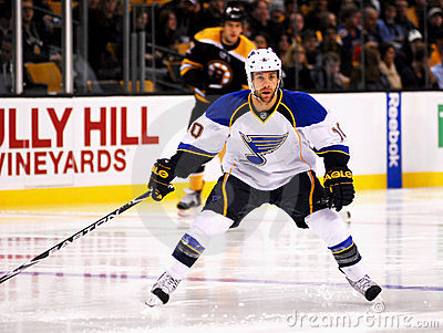 Andy McDonald St. Louis Blues Editorial Image