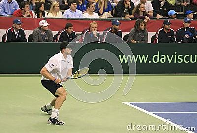 Andy Roddick Forehand, Tennis Editorial Photo