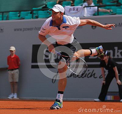 Andy Roddick Tennis  2012 Editorial Photo