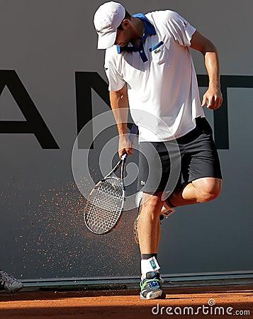 Andy Roddick, Tennis  2012 Editorial Image