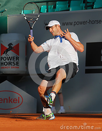 Andy Roddick, Tennis  2012 Editorial Image