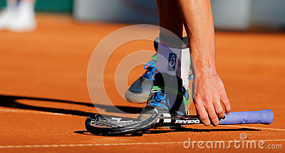Andy Roddick, Tennis  2012 Editorial Stock Image