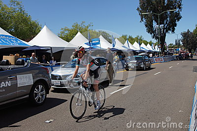 Andy Schleck 2013 Tour of California Editorial Stock Photo