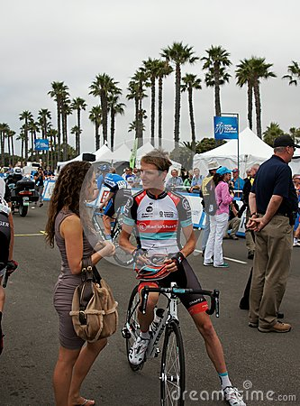 Andy Schleck 2013 Tour of California Editorial Stock Image