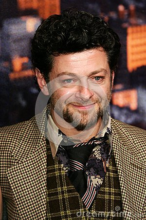 Andy Serkis Editorial Stock Photo