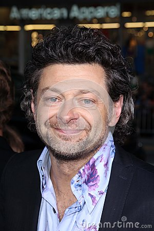 Andy Serkis Editorial Stock Image