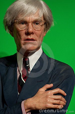 Andy Warhol Editorial Stock Image