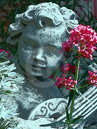 Ange de jardin