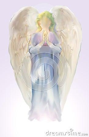 Ange lilas