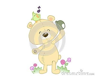 Angefüllter Bär
