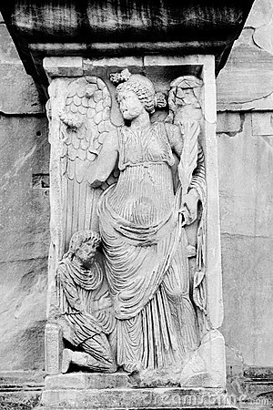 Angel, Arch of Constantine