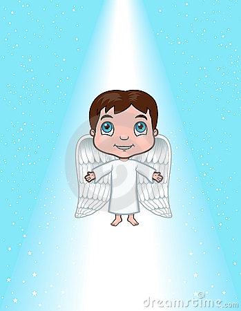 Angel ascending