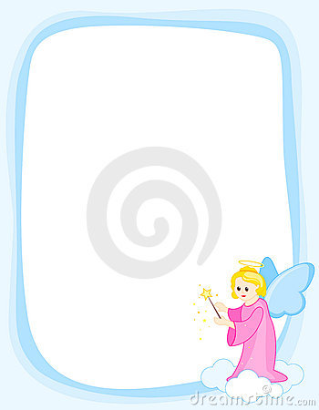 Angel border frame