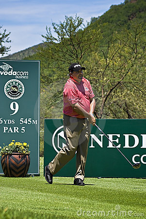 Angel Cabrera - 9th Tee - NGC2009 Editorial Image