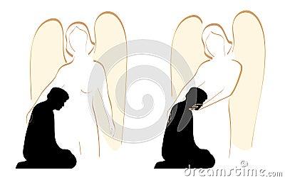 Angel Comforter