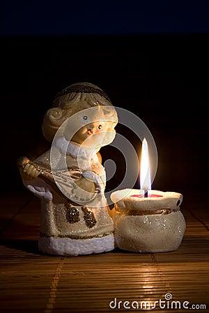 Angel figurine, christmas decoration