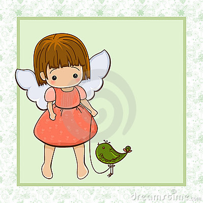 Angel girl.