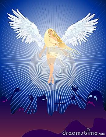 Angel Halloween