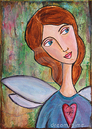Free Angel Heart Stock Images - 5242884