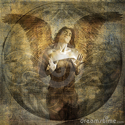 Free Angel Heart Stock Image - 8980251