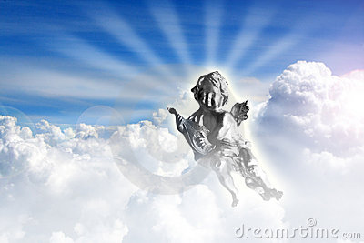 Angel in heaven