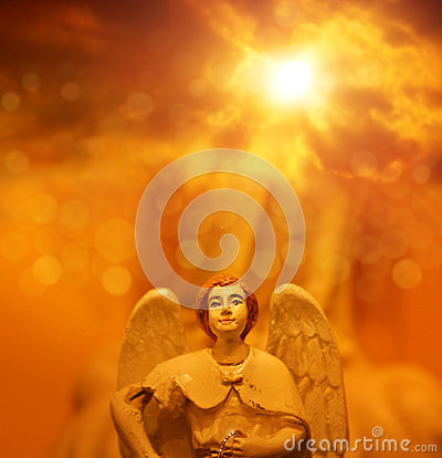Free Angel In Heaven Stock Photography - 28597442