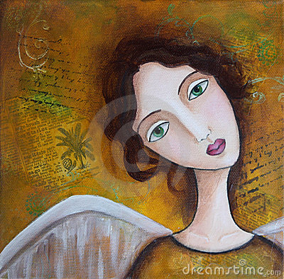 Free Angel Mixed Media Royalty Free Stock Image - 16218846