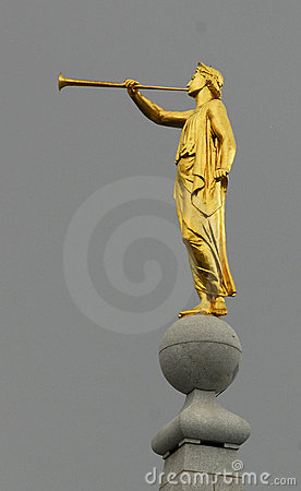 Free Angel Moroni Statue Stock Photo - 6276000