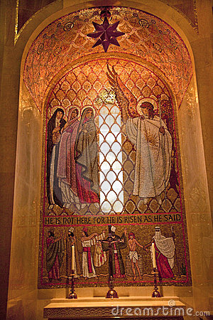 Angel Mosaic Shrine Immaculate Conception