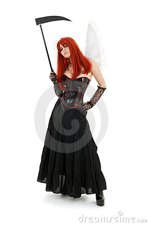 Free Angel Of Doom Royalty Free Stock Images - 3326459