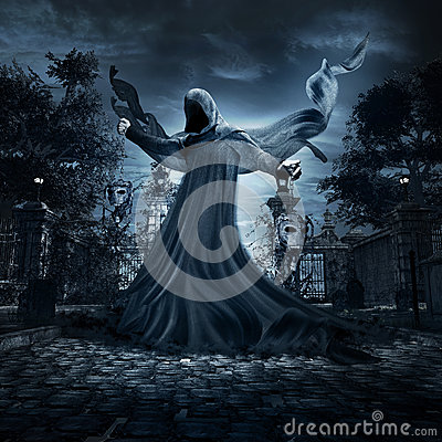 Free Angel Of Eternal Torment Stock Images - 78491254