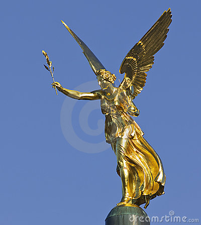 The angel of peace in Bavaria