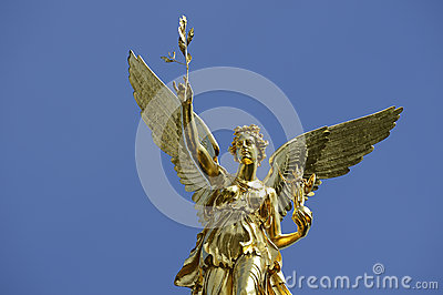 The angel of peace in Munich in Bavaria