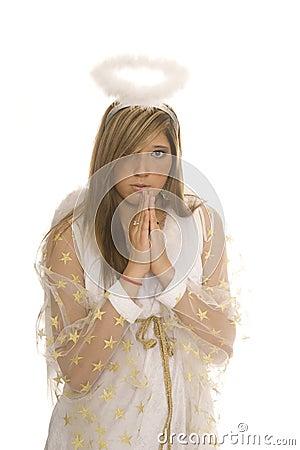 Angel pray