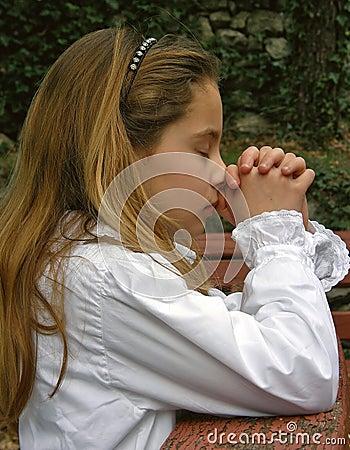 Angel in prayer 2