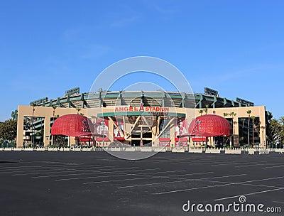 Angel Stadium of Anaheim Editorial Photo