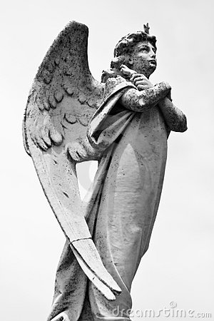 Free Angel Statue Stock Photography - 10035412