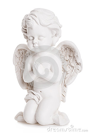 Free Angel Statue Stock Photography - 28381642