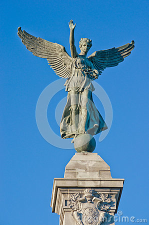 Angel Statue in Montreal