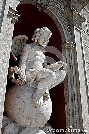 Angel statue in Palmanova