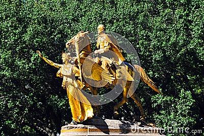 The Angel & Tecumseh Sherman