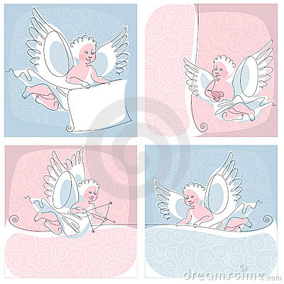 Free Angel. Thread. Collection. Stock Images - 20255594