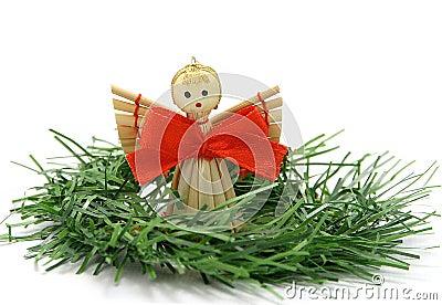 Angel on a twig