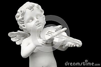 Angel and Violin.
