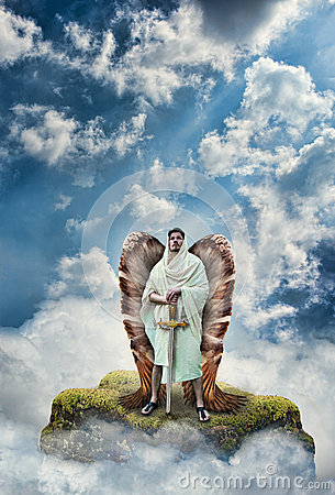 Free Angel Warrior Stock Photography - 70058702