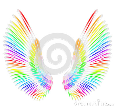 Free Angel Wings Royalty Free Stock Photos - 56794028