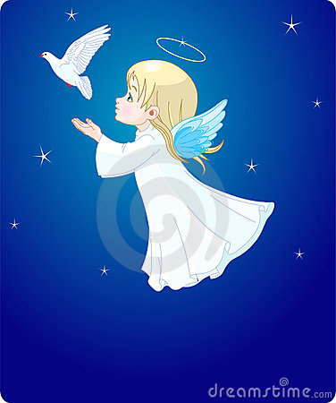 Free Angel With Dove Royalty Free Stock Photography - 11788717