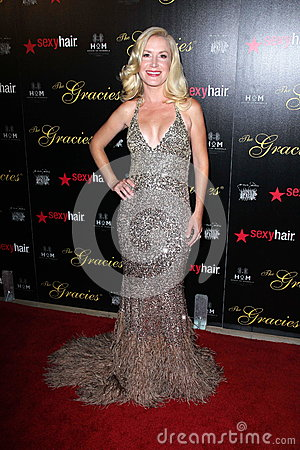 Angela Kinsey at the 2012 Gracie Awards Gala, Beverly Hilton Hotel, Beverly Hills, CA 05-22-12 Editorial Photography
