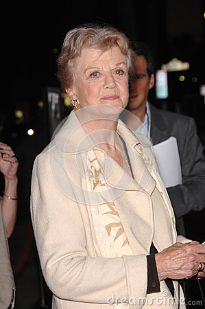 Angela Lansbury,Queen Editorial Stock Photo
